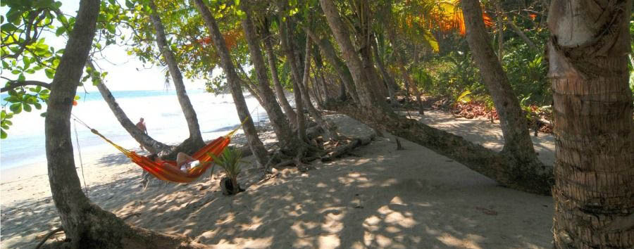 Costa Rica - Manuel Antonio National Park, Relaxing on The Beach