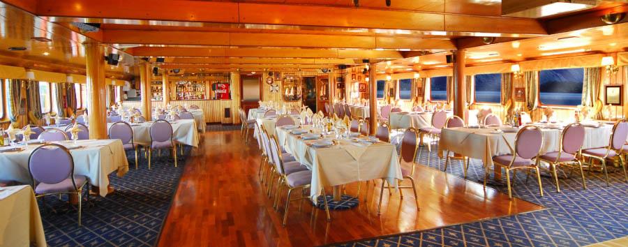 M/V Skorpios II - Restaurant