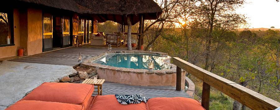 Garonga Safari Camp - Little Garonga, poolside