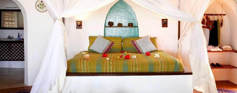 Matemwe Lodge - Bungalow interior