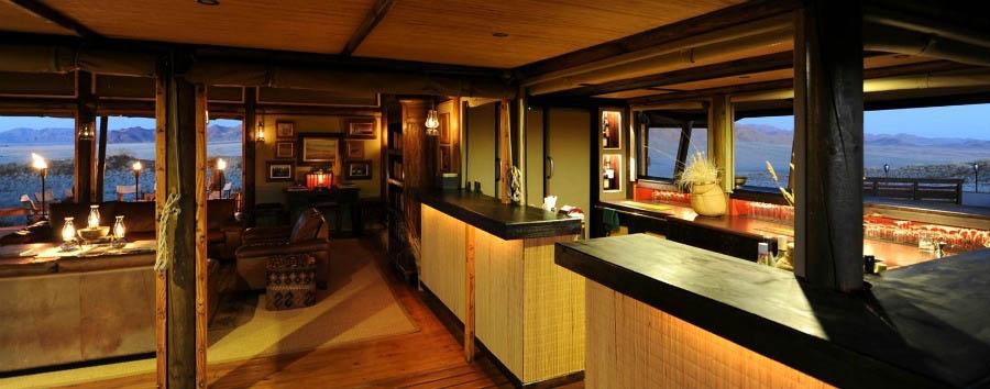 Wolwedans Dunes Lodge - Bar Area