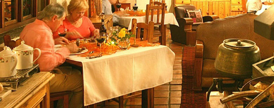 De Opstal Country Lodge - Restaurant