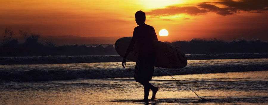 Indonesia, mare al Tugu Bali - Indonesia Tugu Bali, Surfing