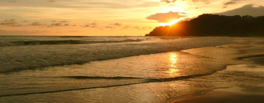 Costa Rica - Manuel Antonio National Park, Sunset on The Beach