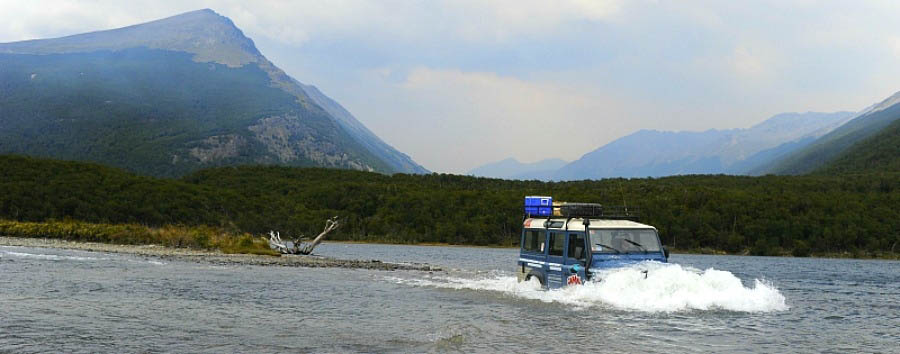 Adventure at the end of the world - Argentina 4x4 Excursion in Lake Escondido