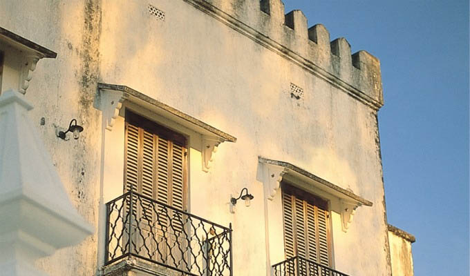 Stonetown, Old House Detail - Zanzibar
