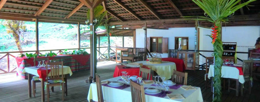 Praia Inhame Eco Lodge - Restaurant