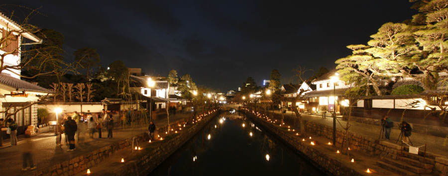 Gran Tour del Giappone - Japan Kurashiki at Night