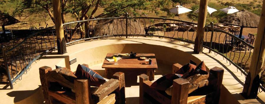 Serengeti Sopa Lodge - Terrace