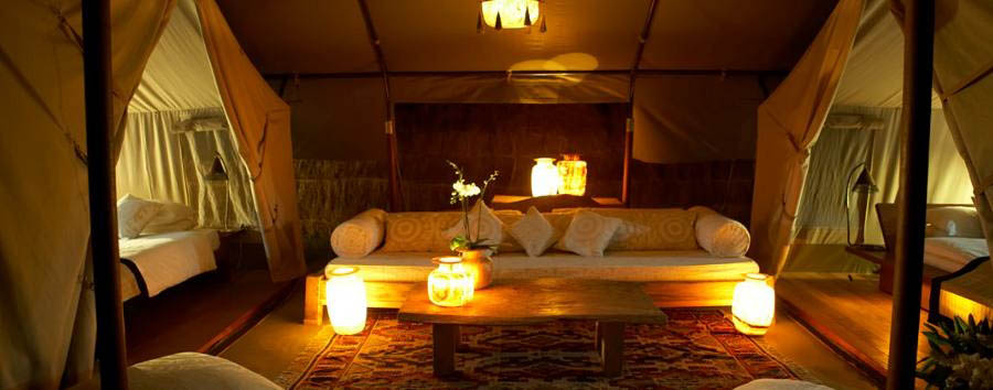 Little Naibor  - Tent Interior