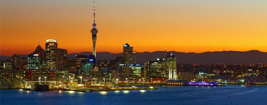Nuova Zelanda, le stelle del nord - New Zealand Auckland at Sunset © Chris McLennan/Tourism New Zealand