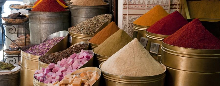 Marrakech à la Amanjena - Marrakech Spezie al suk
