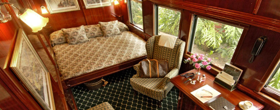 Rovos Rail, Victoria Falls journey - South Africa Deluxe Suite