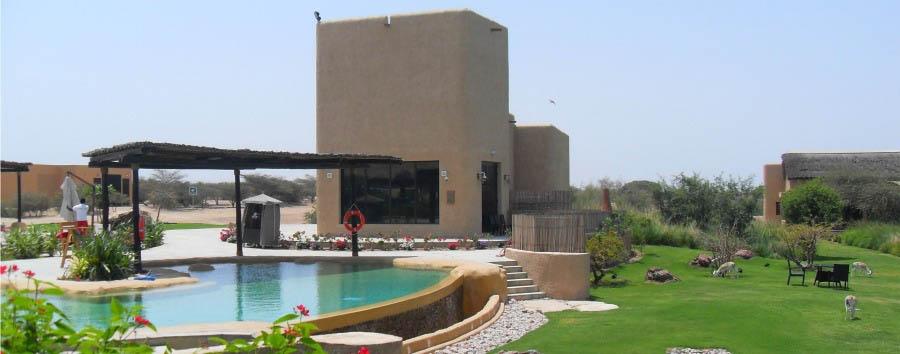 Anantara Sir Bani Yas Island Al Sahel Villa Resort - Main Lodge Pool Area View