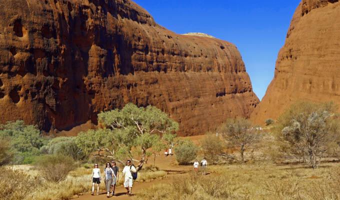 Walpa Gorge © Tourism Australia - Australia
