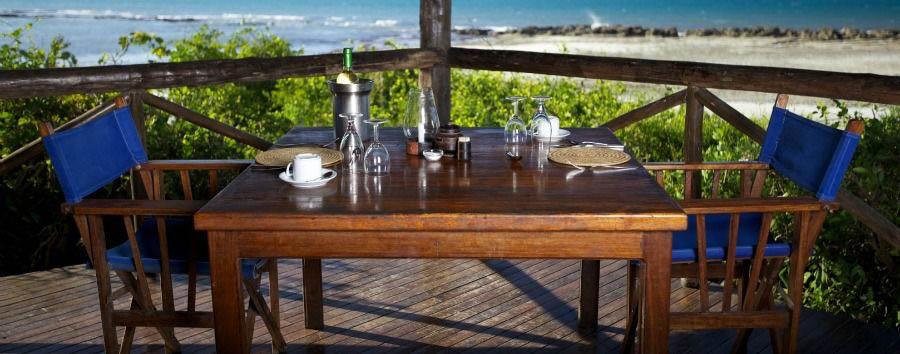 Mare a Lazy Lagoon - Tanzania Lazy Lagoon Island, Outdoor Dining