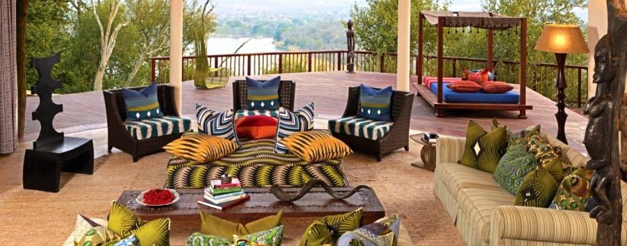 Singita Pamushana - Villa Lounge