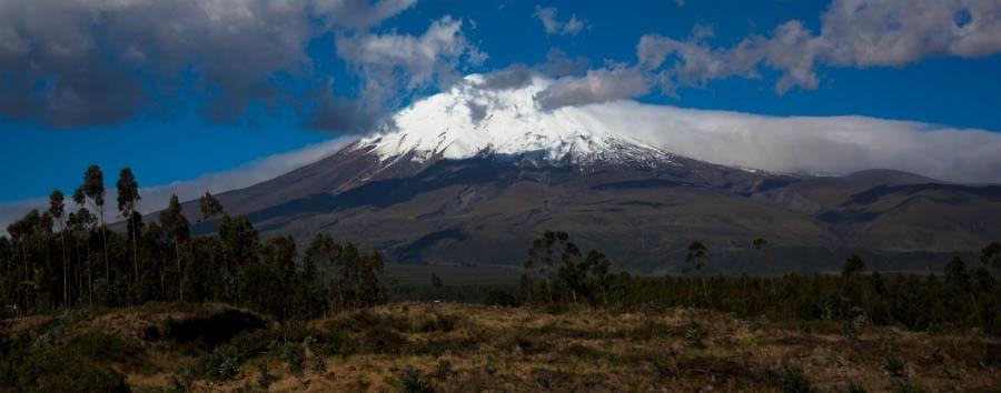 In treno sulle Ande - Ecuador Cotopaxi Volcano © Tren Ecuador