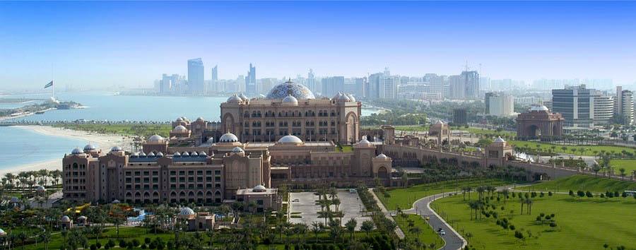 Exclusive Abu Dhabi - Abu Dhabi Emirates Palace Hotel Exterior