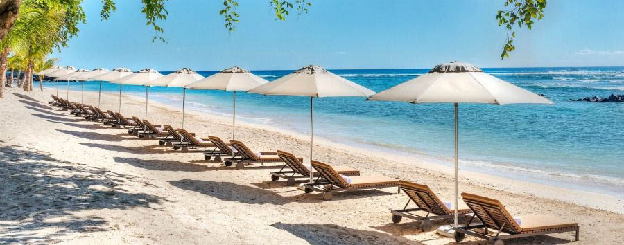 Westin+Turtle+Bay+Resort+%26+Spa+-+Beach+Umbrellas+Lineup