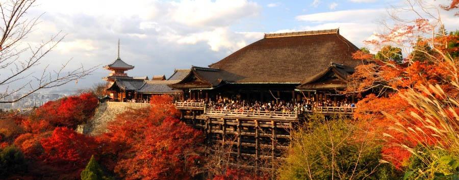 Kyoto, la Firenze d'Oriente - Japan Kyoto, Kiyomizu Temple