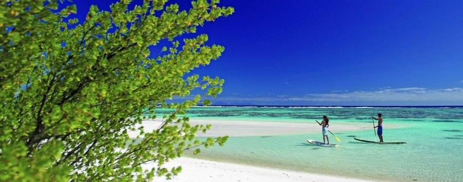 La Stella del Sud - French Polynesia Paddleboarding in Teti'aroa Island © TimMcKenna