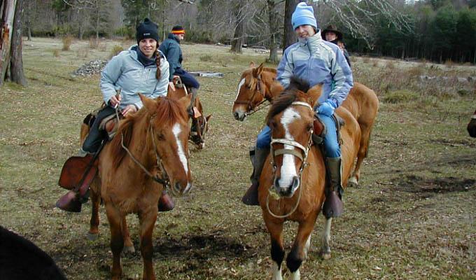 Huilo Huilo, Horse Riding - Chile