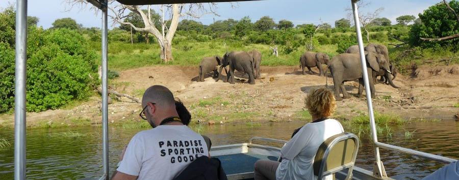 Botswana per tutti - Botswana Cruising the Chobe River