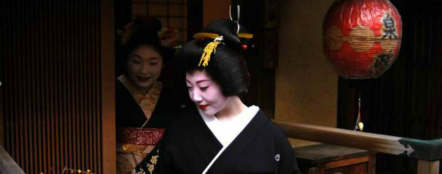 Japan - Kyoto - Geishas in the Gion District