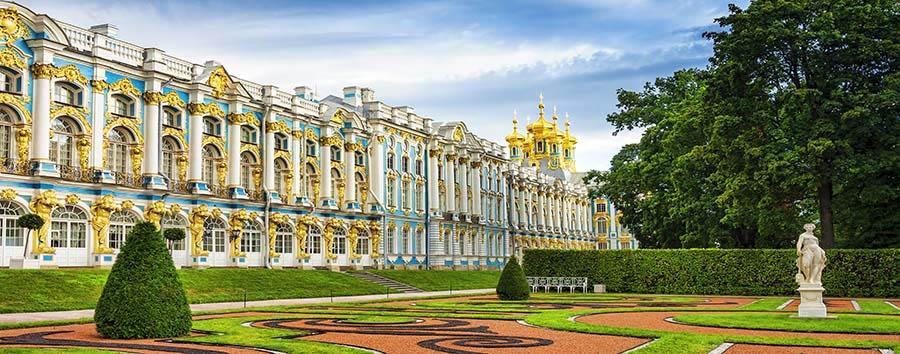 Russia: l'Anello d'Oro - Russia Catherine Palace in St. Petersburg © Vladimir Sazonov/Shutterstock
