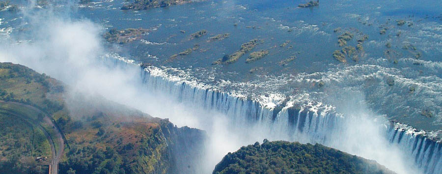 #solonatura - Zimbabwe Victoria Falls, Aerial View