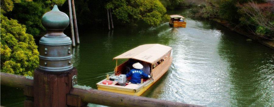 Japan - Matsue, Horikawa River Pleasure Boat