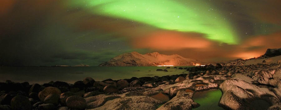 Tromsø à la carte - Norway Kvaløya, Northern Lights © Gaute Bruvik - Visitnorway.com