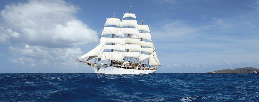 La rotta degli alisei - Panama, Colombia Sea Cloud I Vessel, Sailing with Trade Winds
