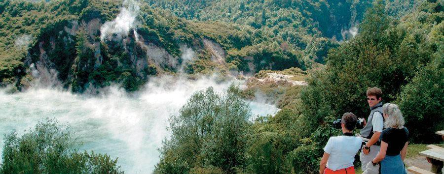 Benvenuti a Aotearoa - New Zealand Rotorua, Waimangu Volcanic Valley © Tourism New Zealand