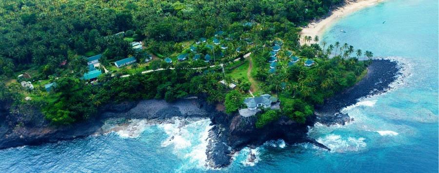 L'incanto del paradiso sconosciuto - São Tomé Club Santana, Aerial View
