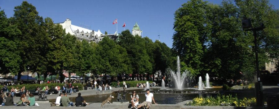 Le Capitali del Nord - Norway Oslo, A Summer Day in The Park © Nancy Bundt - Visitnorway.com