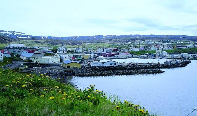 Husavik Village - Courtesy of Iceland Travel - Iceland