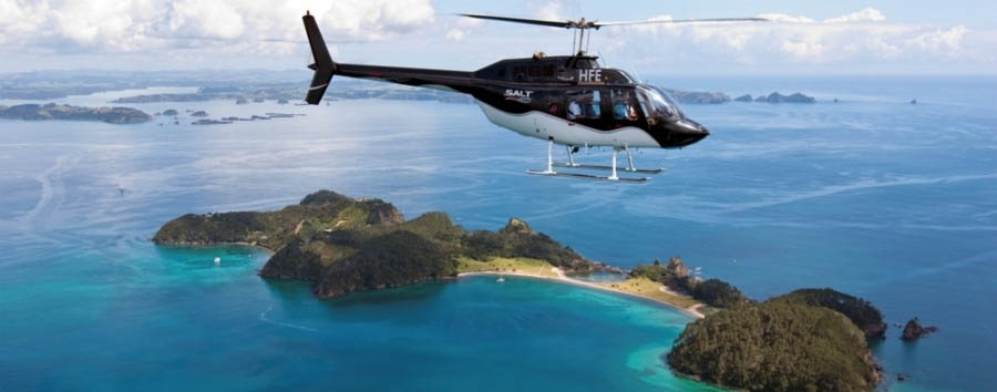 The Eagles Nest Experience - New Zealand Eagles Nest Lodge, Helicopter Scenic Flight