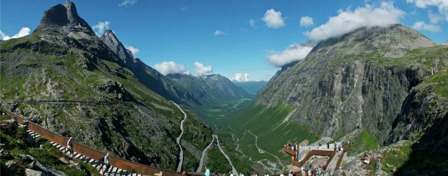 Splendore dei fiordi - Norway Trollstigen © Øyvind Heen - Visitnorway.com