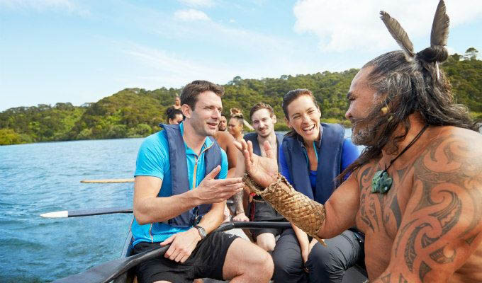 Maori Guide © Sara Orme/Tourism New Zealand - New Zealand