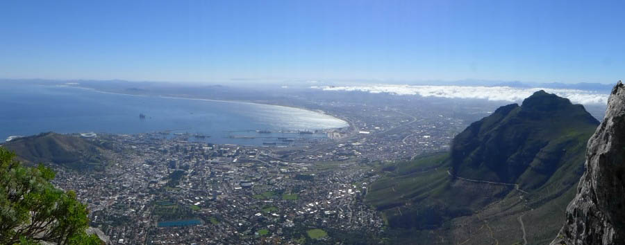 South Africa - Cape Town Aerial View