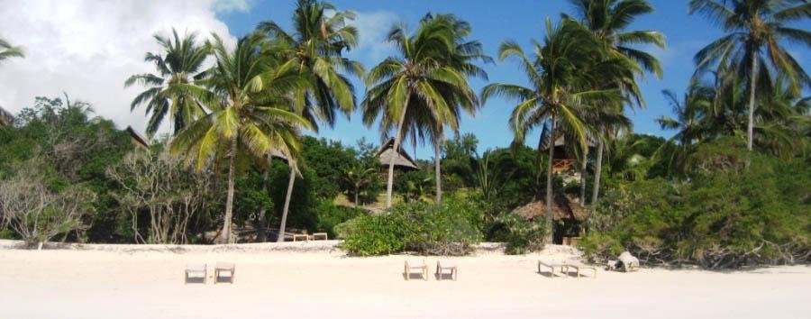 Esotica Zanzibar: Kichanga Lodge - Zanzibar Beach view