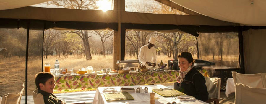 Serengeti Kati Kati Tented Camp - Dining Room