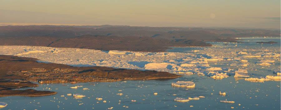 Ilulissat, la città degli iceberg - Greenland Ilulissat Icefjord, Aerial View © Rino Rasmussen/VisitGreenland A/S