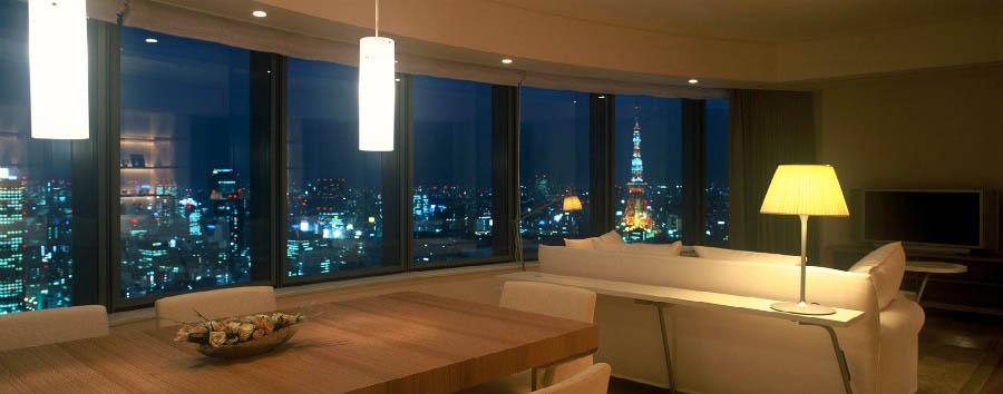 Park Hotel Tokyo - Suite Living room