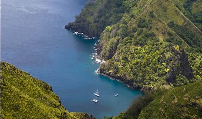 Panorama - Marquesas Islands