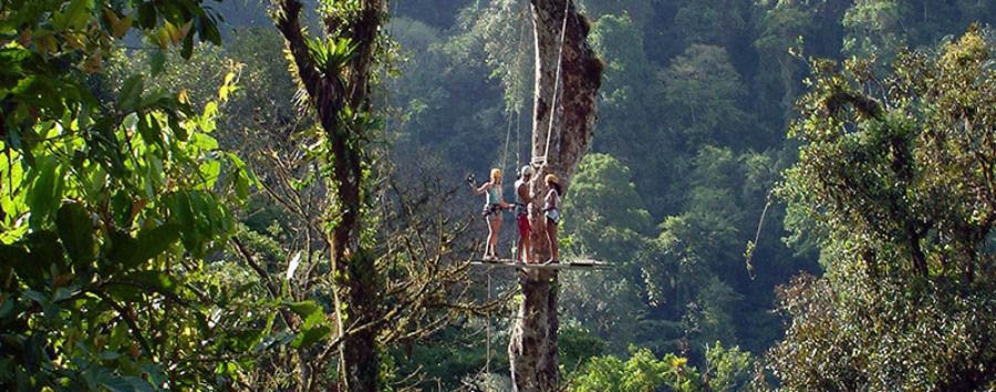 Costa Rica - Pacuare Lodge, Canopy Tour
