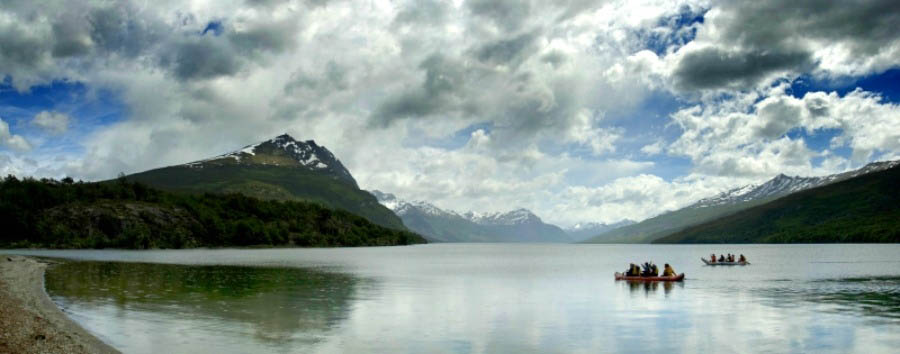 Adventure at the end of the world - Argentina Canoeing in Tierra del Fuego National Park