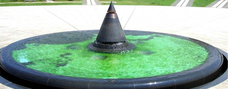 Okinawa: il Pacifico nascosto - Japan Okinawa, Peace Memorial Park Fountain